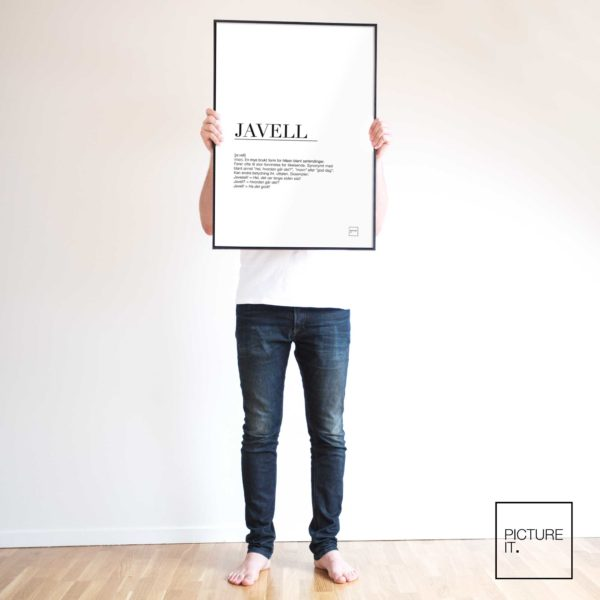 javell poster