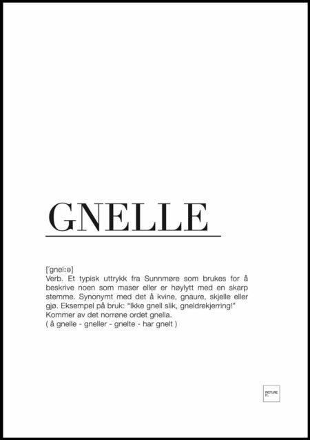 Gnelle poster