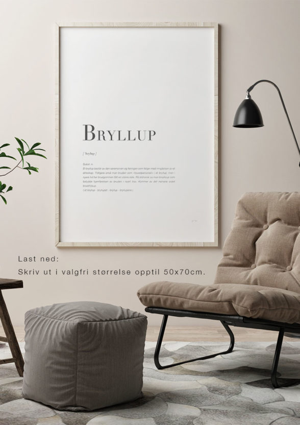 BRYLLUP-Last ned