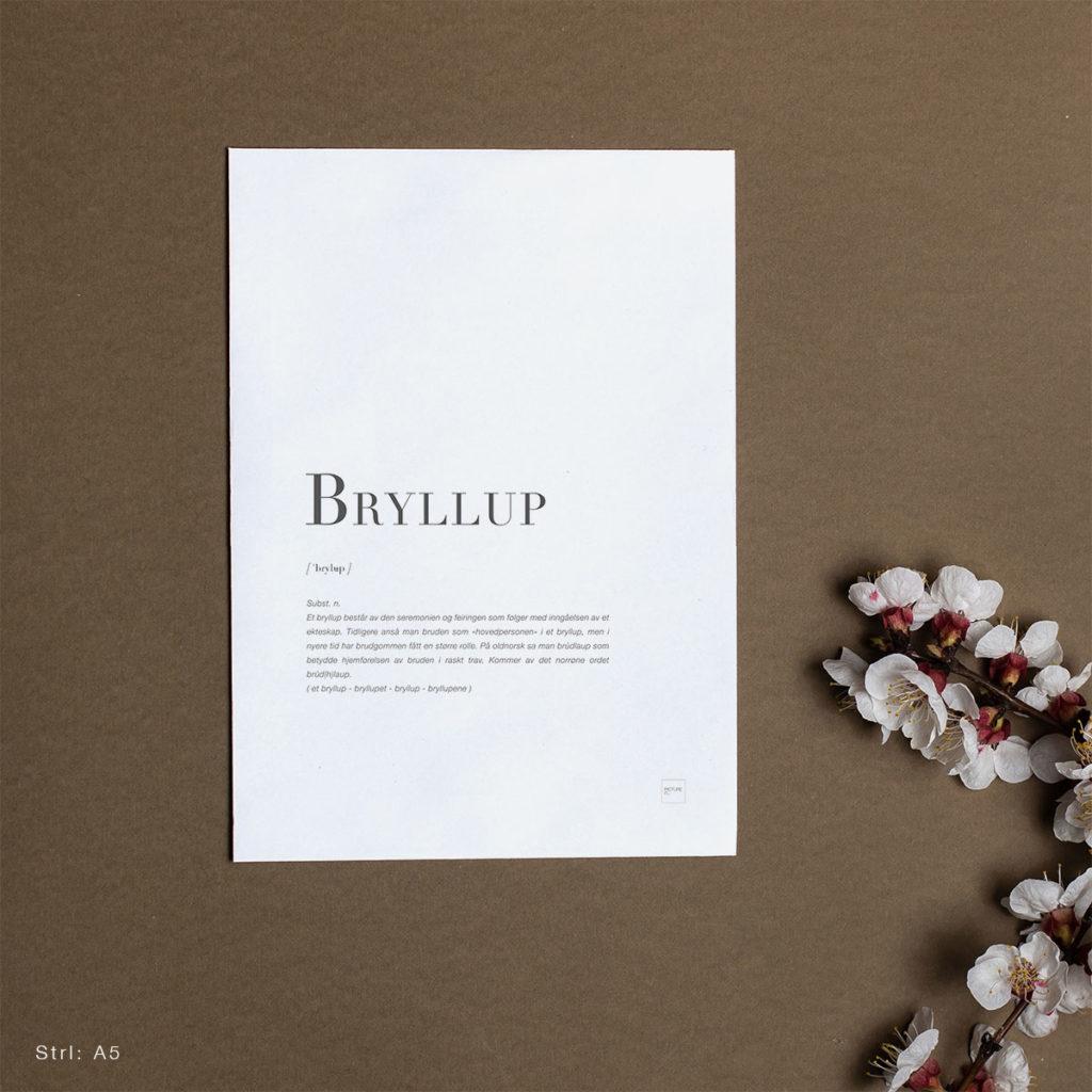 BRYLLUP-A5