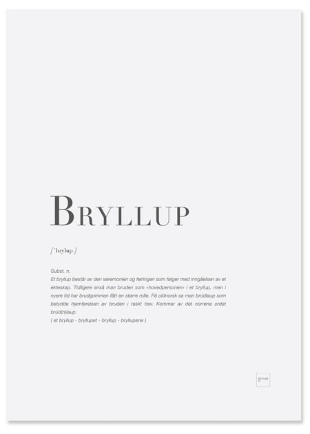 bryllup-poster