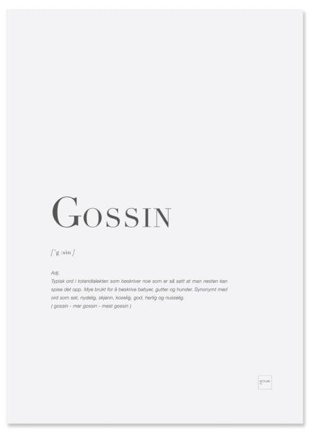 gossin-poster