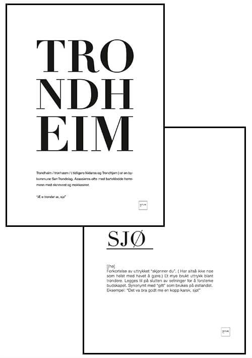 TRONDHEIM + SJØ