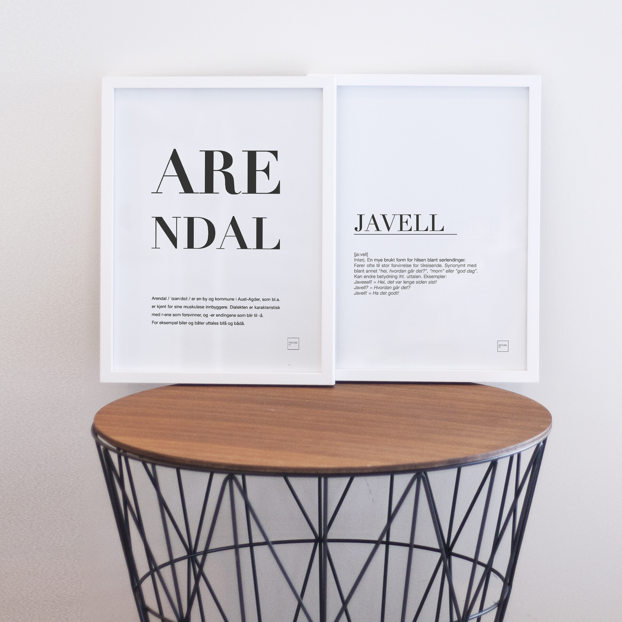 ARENDAL + JAVELL