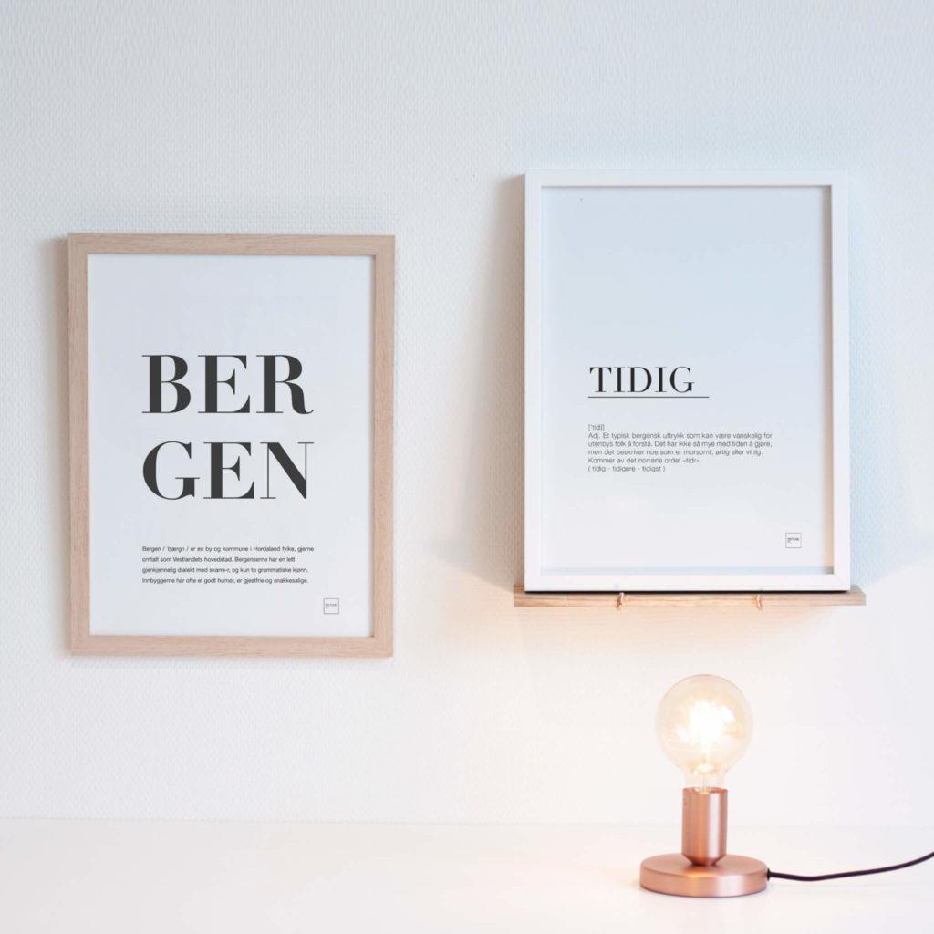 BERGEN + TIDIG