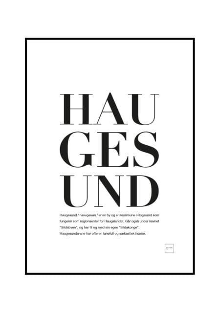 haugesund poster