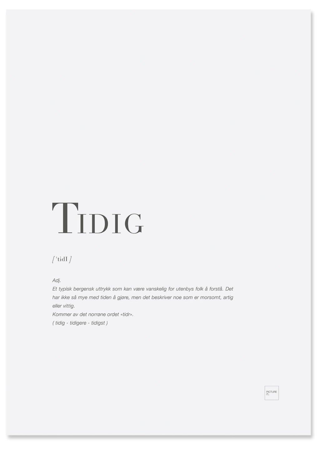tidig-poster