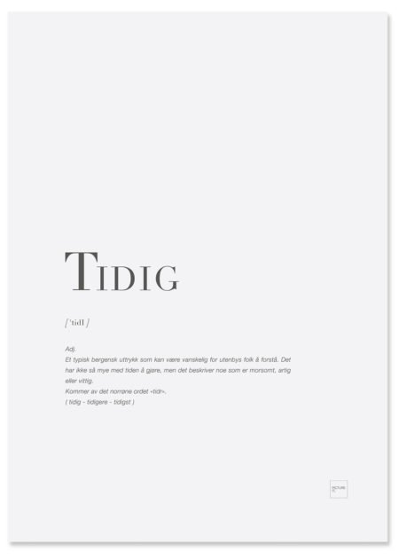 tidig-poster