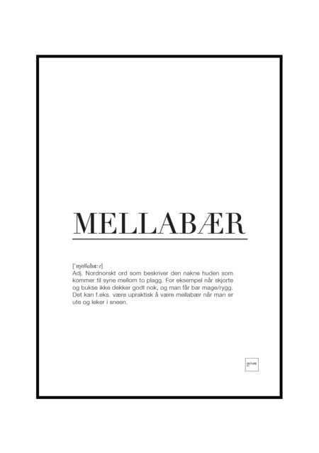 MELLABÆR