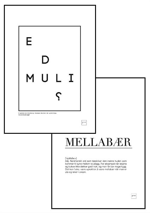 E D MULI? + MELLABÆR