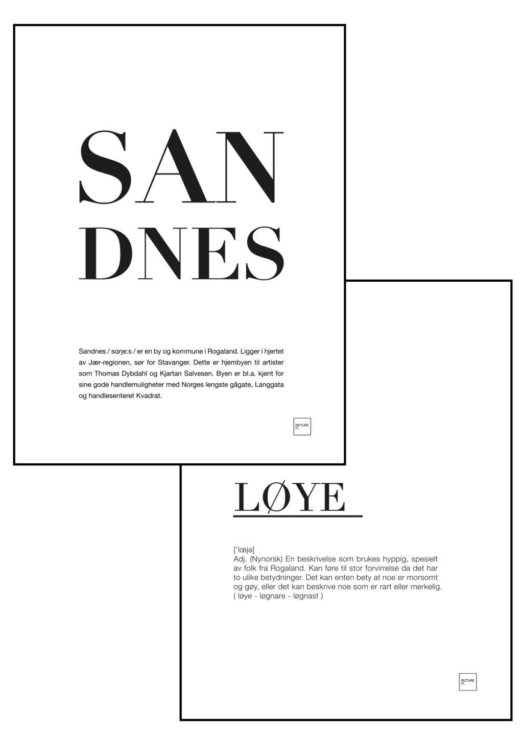 sandnes + løye