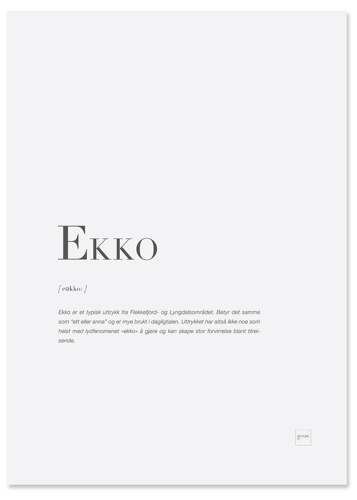 ekko-poster