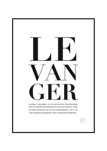 levanger poster