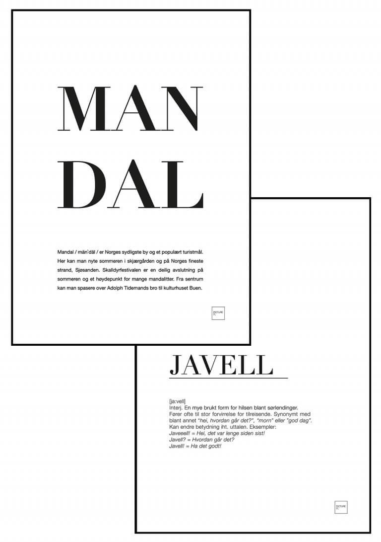 MANDAL + JAVELL