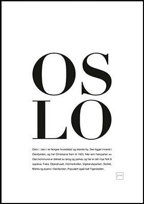 oslo poster