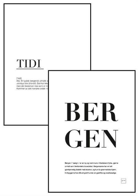 BERGEN + TIDI