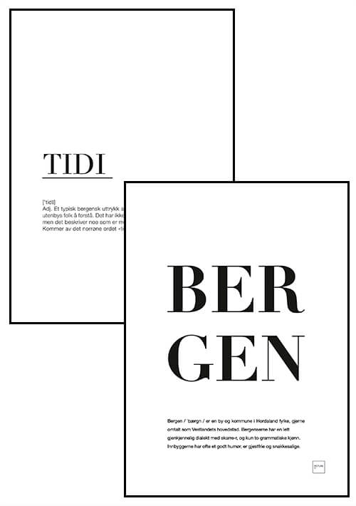 TIDI + BERGEN