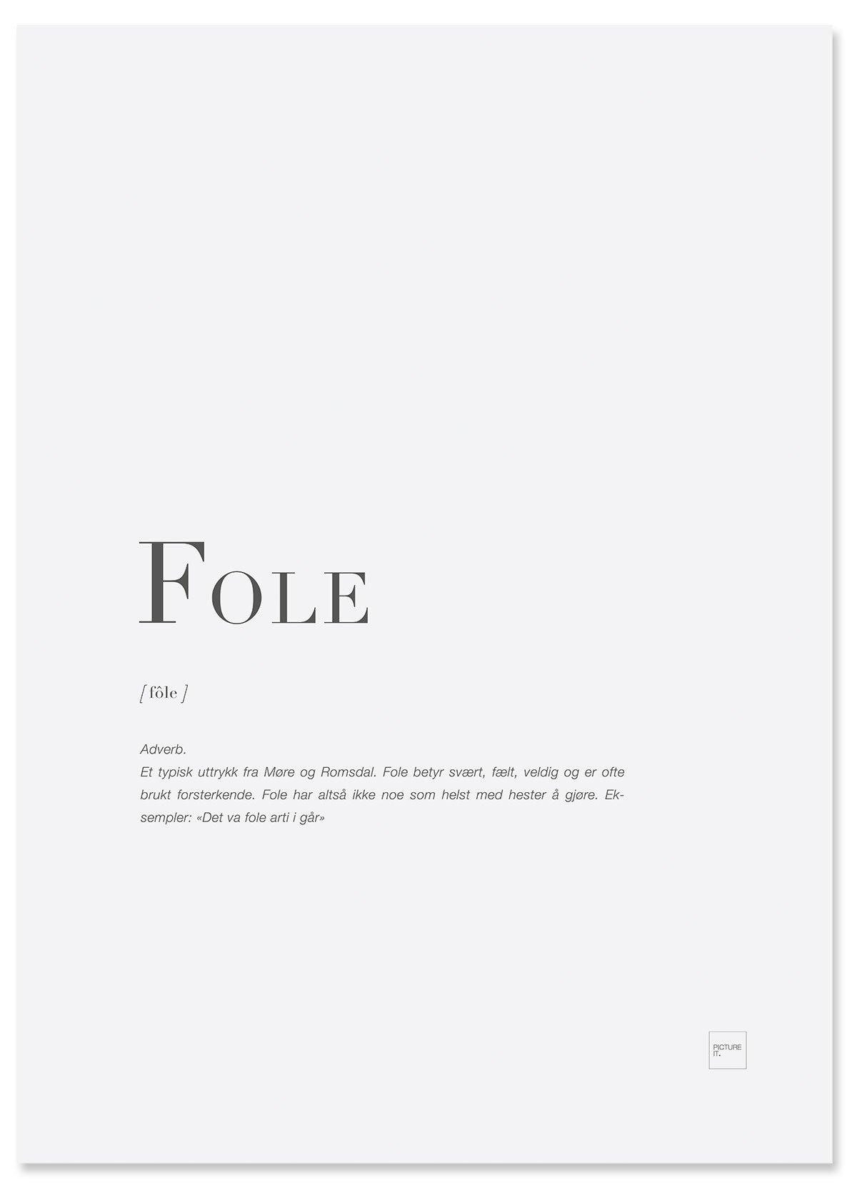 fole-poster