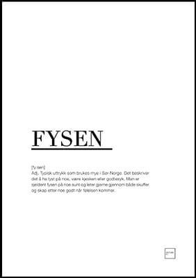 fysen poster