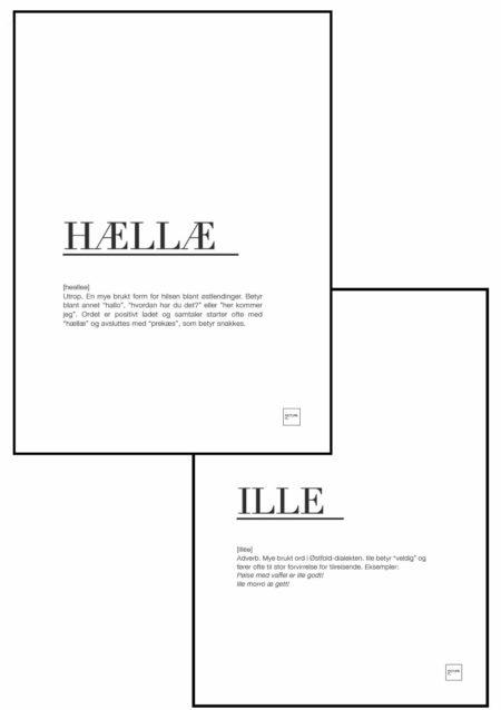 HÆLLÆ + ILLE