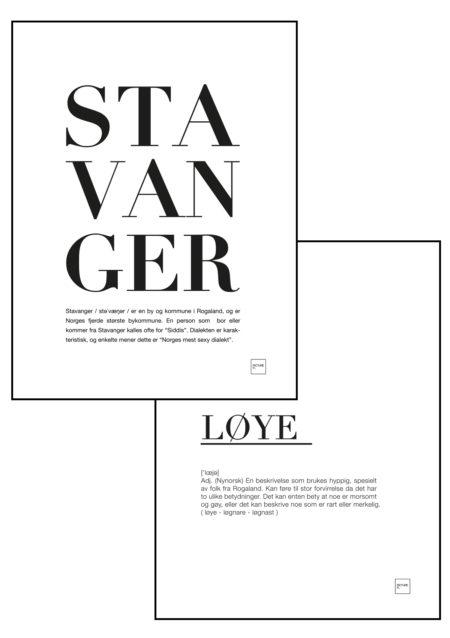 stavanger + løye
