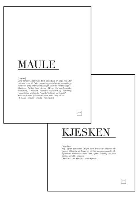 maule + kjesken