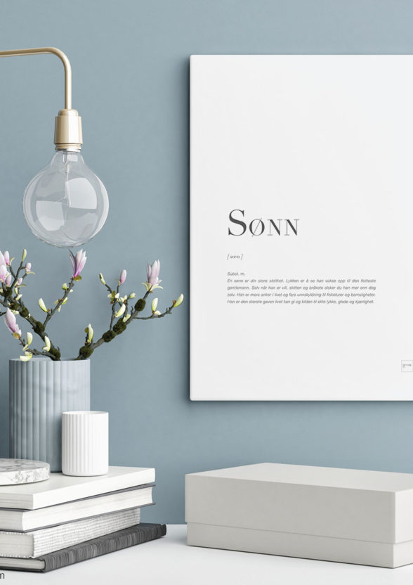 SØNN-30x40cm