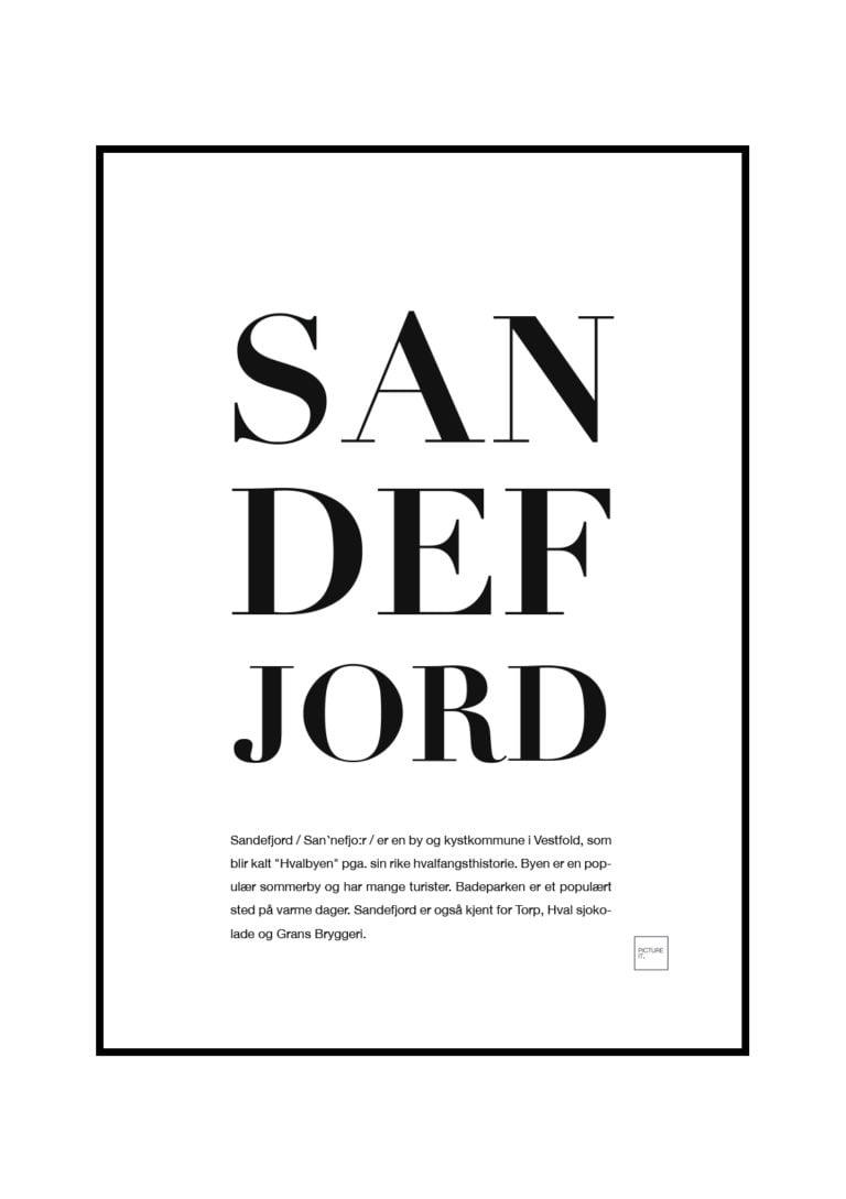 SANDEFJORD-poster
