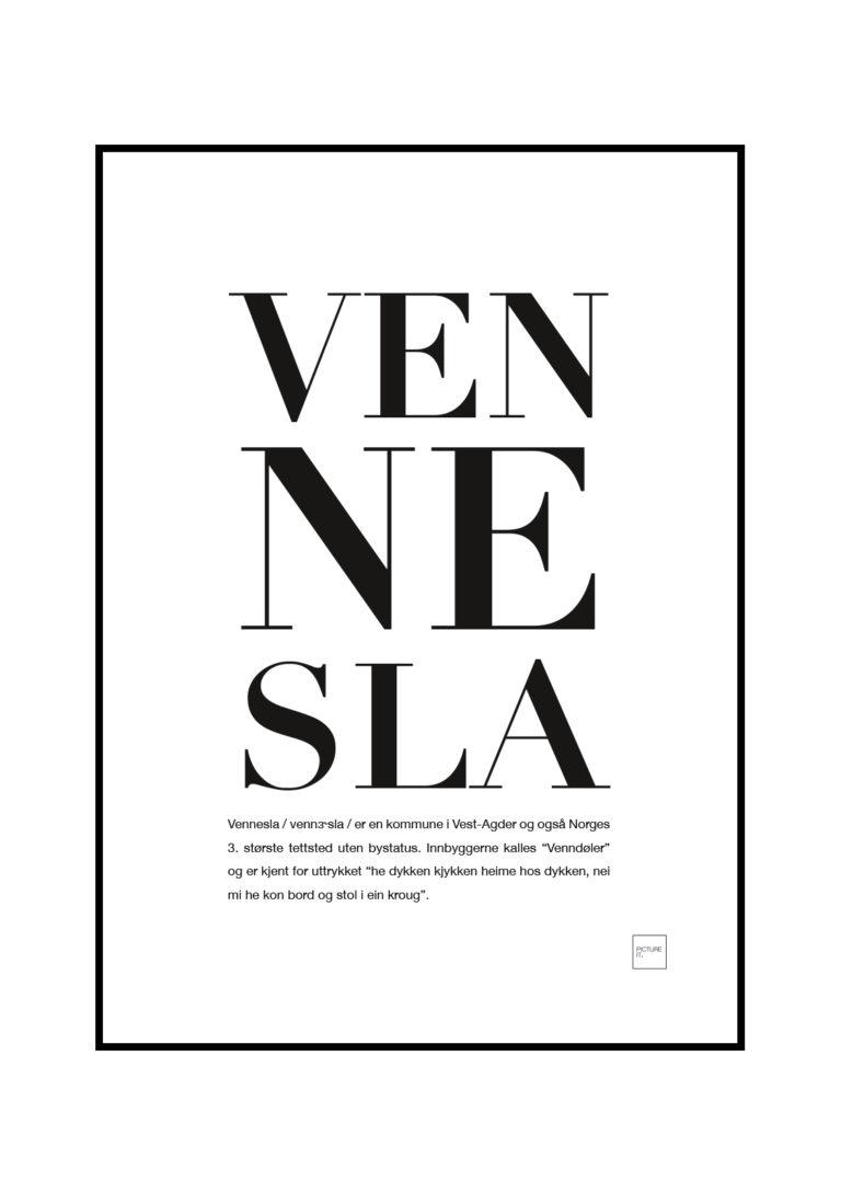 VENNESLA-poster