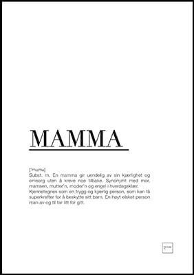 tekst til mor
