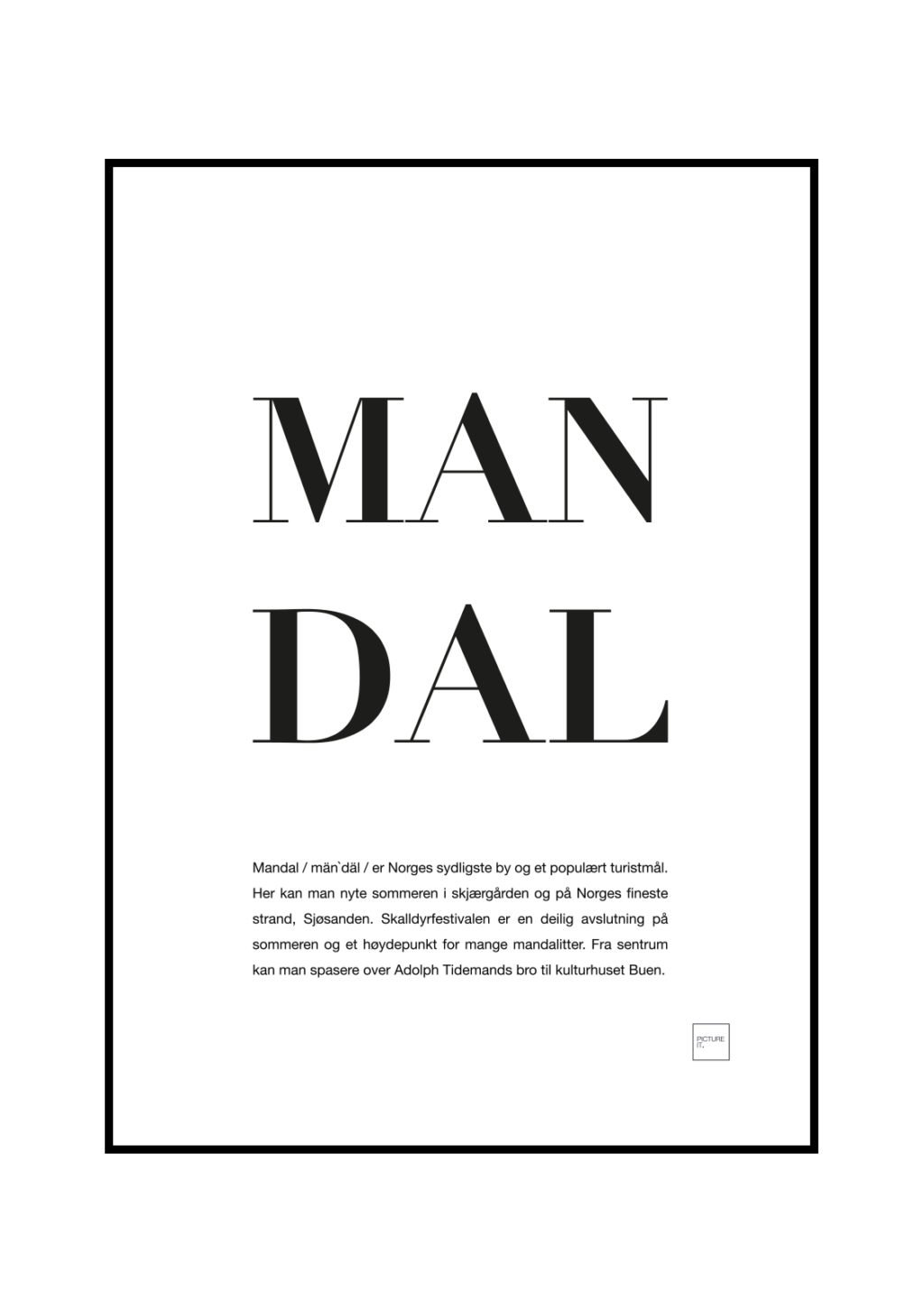 mandal poster