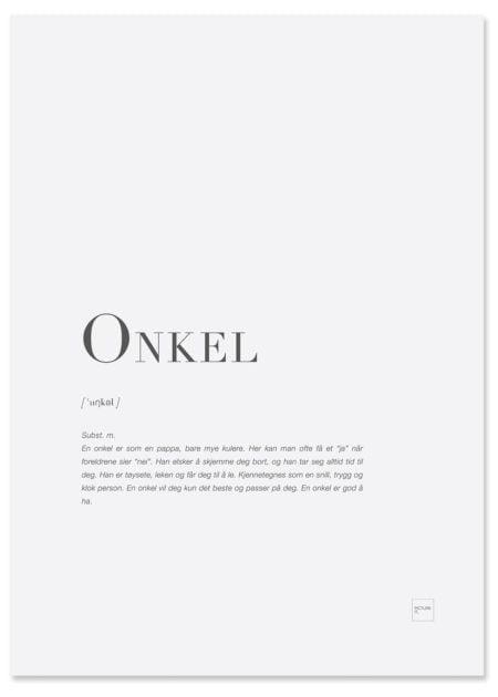 onkel-poster