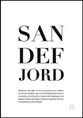 sandefjord poster