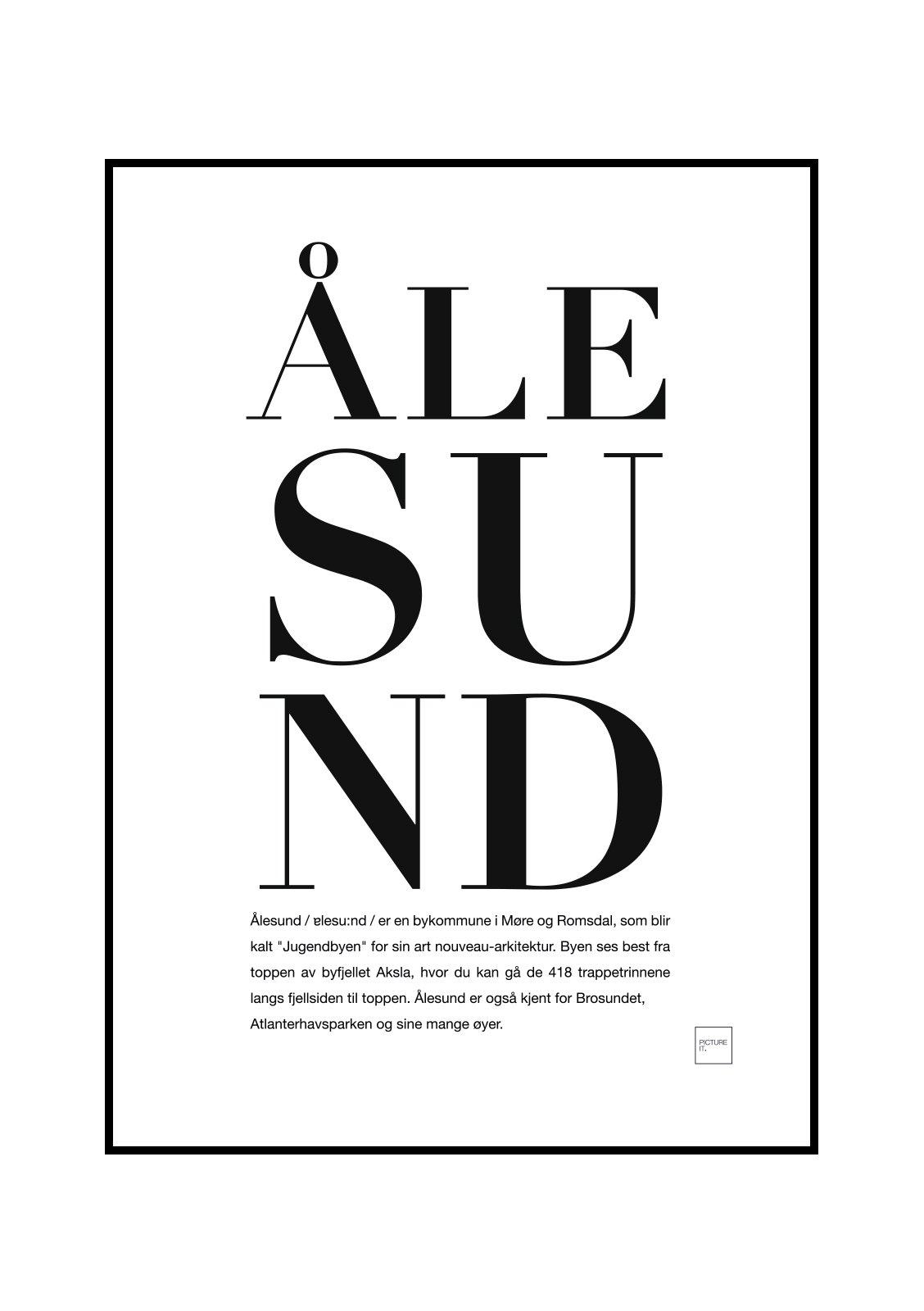 alesund-poster