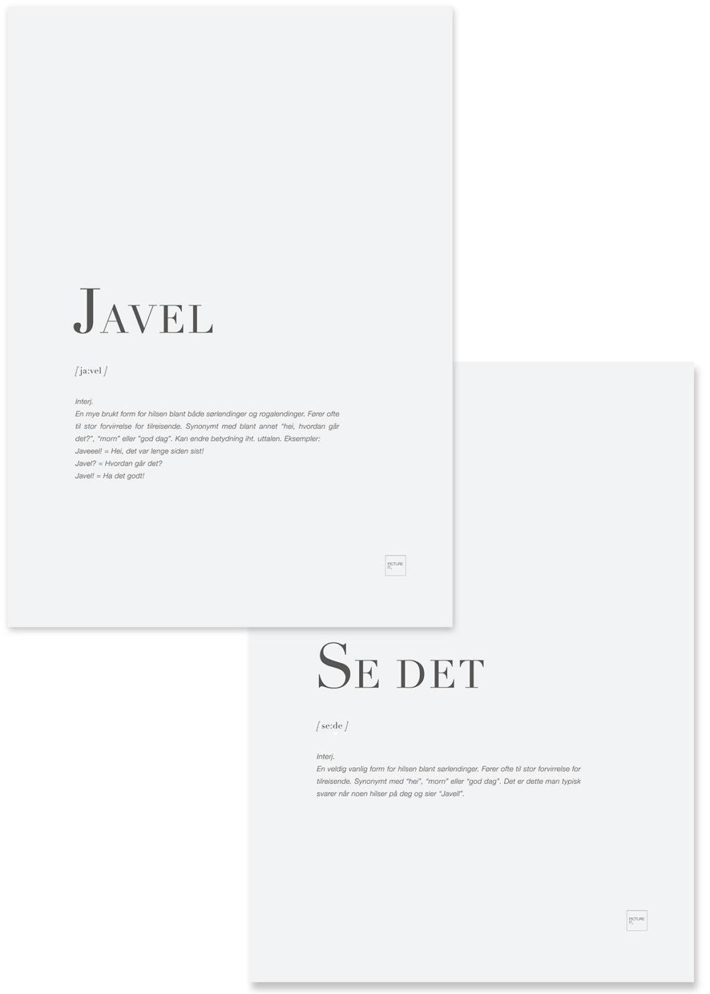 JAVEL + SE DET pakketilbud