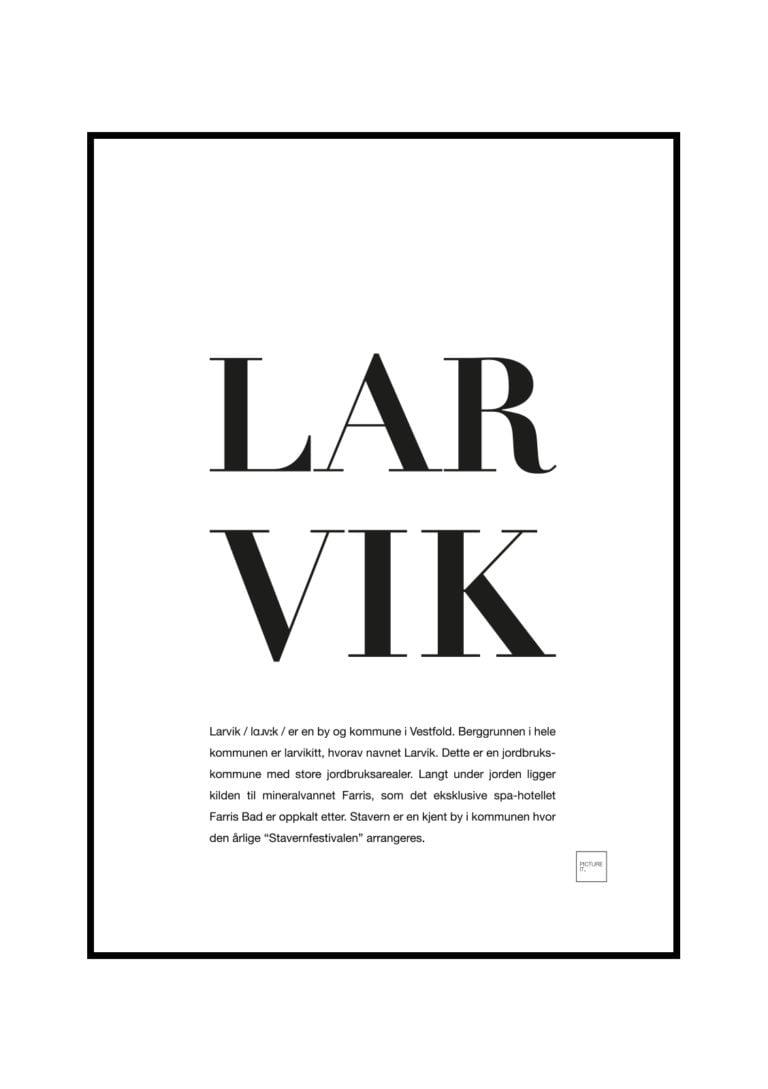 LARVIK-psoter