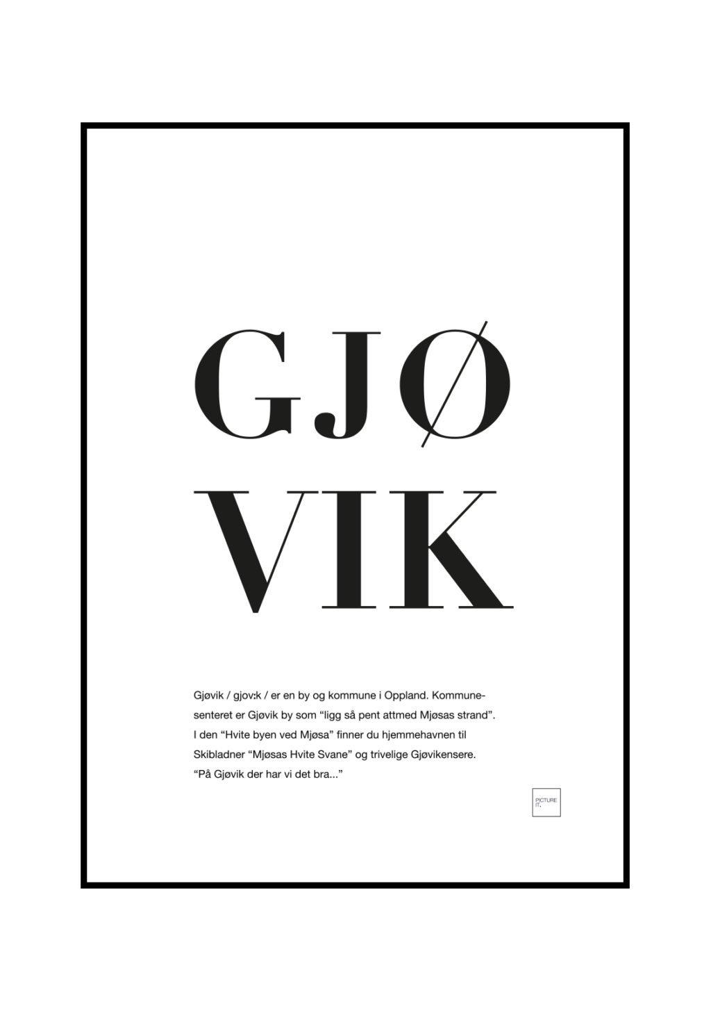 gjøvik poster