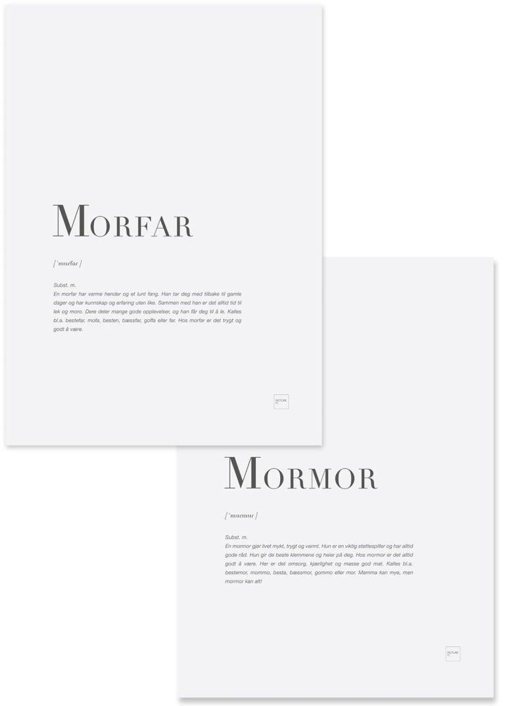MORFAR+MORMOR