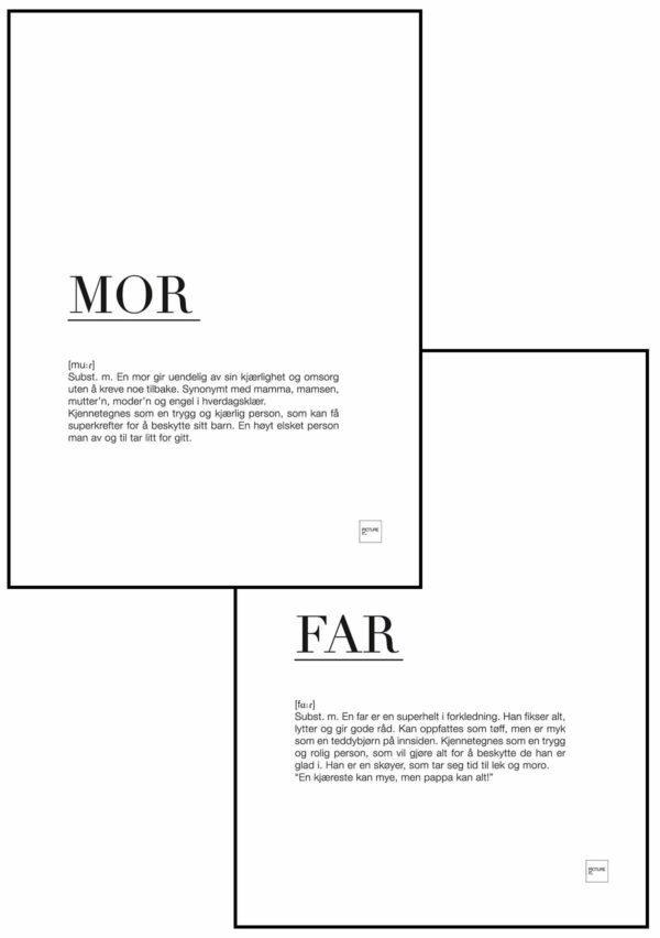 MOR + FAR poster