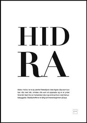 HIDRA poster