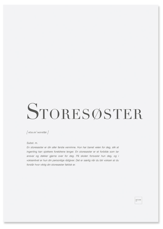 storesøster-poster