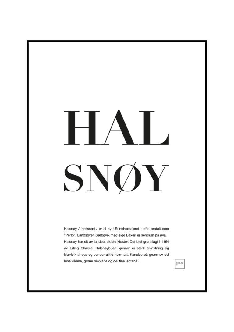 HALSNOY-poster