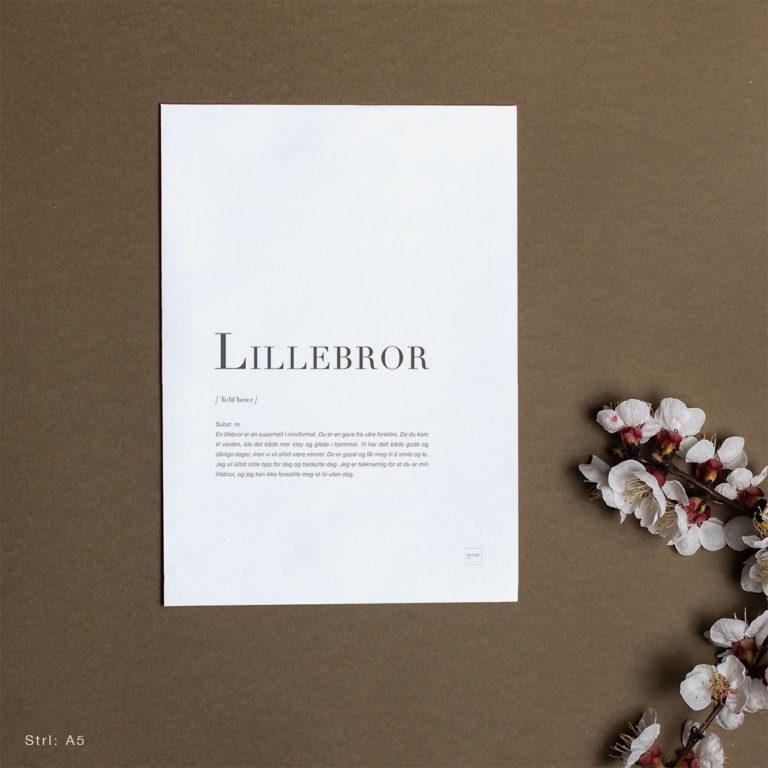 LILLEBROR-A5