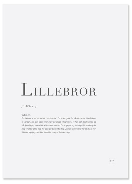 lillebror-poster