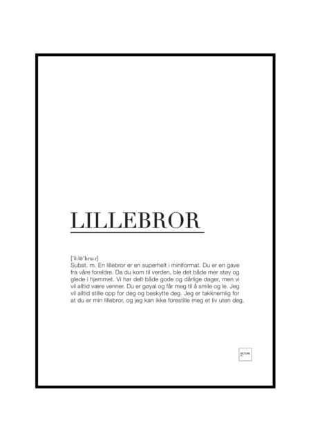 lillebror poster
