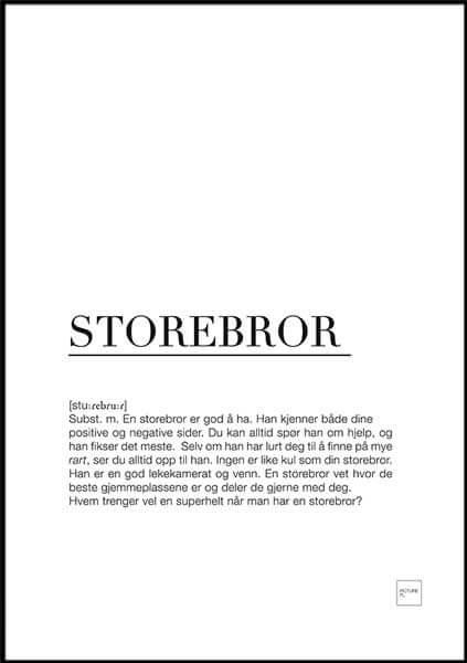 storebror poster