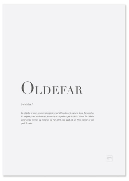 oldefar-poster