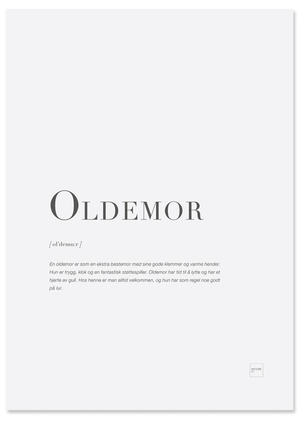 oldemor-poster