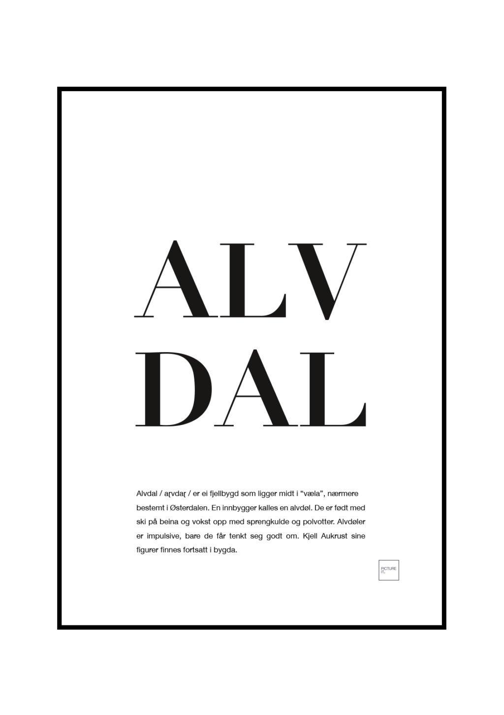 alvdal poster