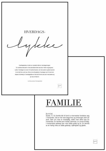 HVERDAGSLYKKE + FAMILIE